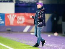 Austria-Trainer Peter Stöger sieht sein Team durchaus ebenbürtig