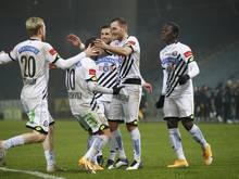 Sturm Graz eilte zuletzt von Sieg zu Sieg