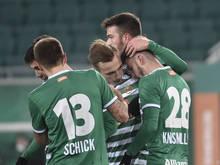Rapid startet einen Siegeslauf in der Bundesliga