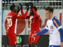 Salzburg bejubelt den zweiten Sieg ohne Gegentor in Folge