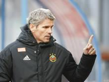 Coach Dietmar Kühbauer will mit Rapid die Siegesserie fortsetzen