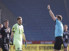 Sturm-Goalie Jörg Siebenhandl wird für ein Spiel gesperrt