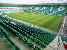 Das Allianz-Stadion von Rapid Wien