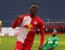 Liga-Topgoalgetter Patson Daka traf einmal mehr für die Salzburger