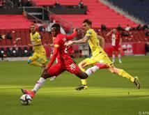 Salzburgs Goalgetter Patson Daka leitete die frühe Wende ein