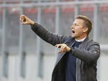 Salzburg-Trainer Jesse Marsch will gegen die Admira Revanche nehmen