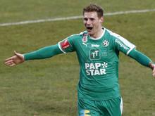 Die Tiroler bejubeln einen wichtigen Sieg im Kampf um einen Meistergruppen-Platz