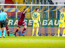 Altach jubelt über einen knappen Auswärtssieg in St. Pölten