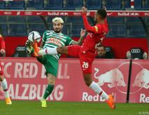 Seit acht Spielen sind die Hütteldorfer gegen Salzburg schon sieglosen