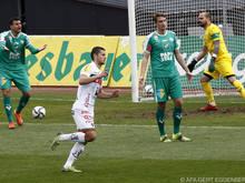 WAC-Matchwinner Joveljic dreht nach seinem Führungstor ab