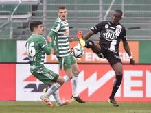 Yeboah muss nach Ausschluss gegen Rapid ein Spiel pausieren