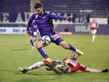 Ein violetter Lichtblick: Marco Djuricin