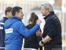 Markus Schopp (r.) und Andreas Heraf: Wer lacht am Ende?