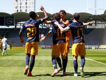 Nichts Neues in der Liga: Salzburg jubelt, hier in Graz