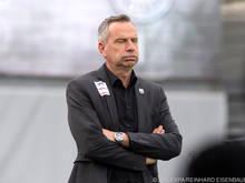 Ein gebrauchter Tag für LASK-Trainer Dominik Thalhammer
