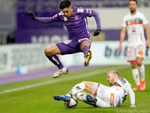 Das Bild täuscht: WAC war gegen Austria in Saison zweimal obenauf
