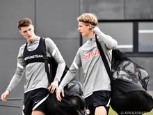 Benjamin Šeško und Maurits Kjærgaard schafften den Sprung in den Salzburg-Kader