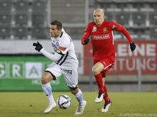 Tomislav Tomić (r.) wird nicht mehr im Admira-Dress zu sehen sein