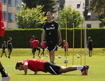 Neo-Chefcoach Jaissle startet in sein erstes offizielles Training