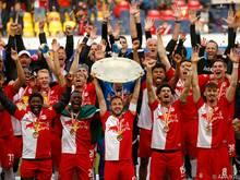Salzburgs Profis stellten den Klub ein gutes Zeugnis aus