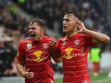 """Salzburger Emotion beim 2:1 gegen """"Barca"""""""