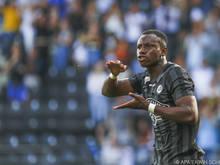Kelvin Yeboah erlebte mit einem Doppelpack einen Sahnetag