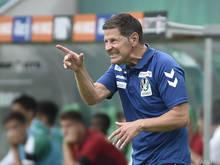 Für Andreas Heraf und die SV Ried verlief der Saisonstart sehr positiv