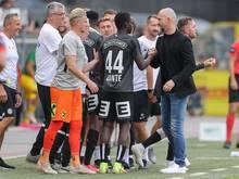 Sturm Graz jubelt über den nächsten Sieg in der Bundesliga a