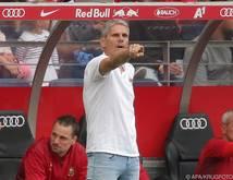 Rapid-Coach Kühbauer war nach der Niederlage gegen Salzburg verärgert