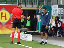 Ried-Trainer Heraf muss nach Schiedsrichterkritik ein Spiel pausieren