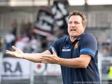 Auf der Suche nach Punkten: Admira-Coach Herzog
