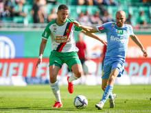 Ercan Kara war mit drei Treffern der Mann des Spiels