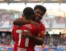 Karim Adeyemi traf für den Meister aus Salzburg doppelt