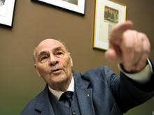 Rapid-Legende Alfred Körner war bei der WM 1954 dabei
