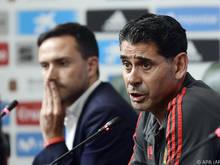 Neo-Coach Fernando Hierro springt für Spanien ins kalte Wasser
