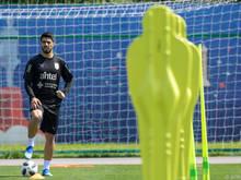 Luis Suárez steht vor seinem 100. Auftritt in Uruguays Teamtrikot