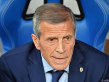 Uruguay-Coach Óscar Tabárez