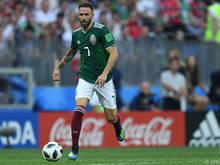 Miguel Layun war die Schaltzentrale im Spiel der Mexikaner