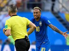 Und wieder drehte sich alles um Superstar Neymar