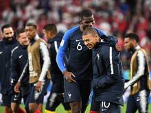 Frankreich reicht bereits ein Punkt zum Gruppensieg