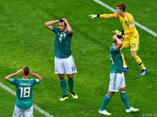 Den Deutschen gelang gegen Südkorea kein Tor
