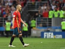 Andrés Iniesta kehrt dem Team den Rücken