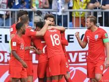 England steht bei der WM-Endrunde unter den besten vier