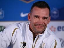 Teamchef Shevchenko bangt um zwei Spieler vor der EM