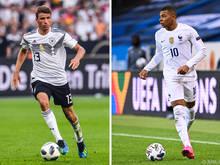 Müller trifft mit Deutschland auf Frankreich mit Starstürmer Kylian Mbappé