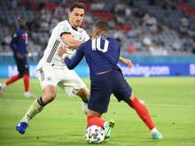 Frankreich gewann das Spitzenspiel gegen Deutschland