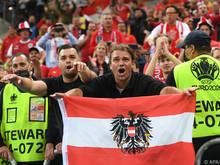 Österreichs Fans jubelten bereits zum EM-Auftakt in Bukarest