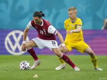 Florian Grillitsch lieferte gegen die Ukraine eine Topleistung ab