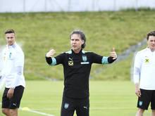 Gerhard Zallinger macht die ÖFB-Kicker fit