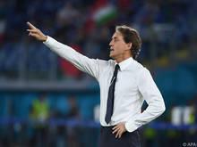 Mancini führte die Squadra Azzurra zurück in Erfolgsspur
